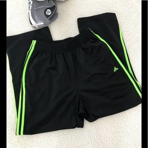 Adidas 3 Stripes Athletic Workout Running Pants